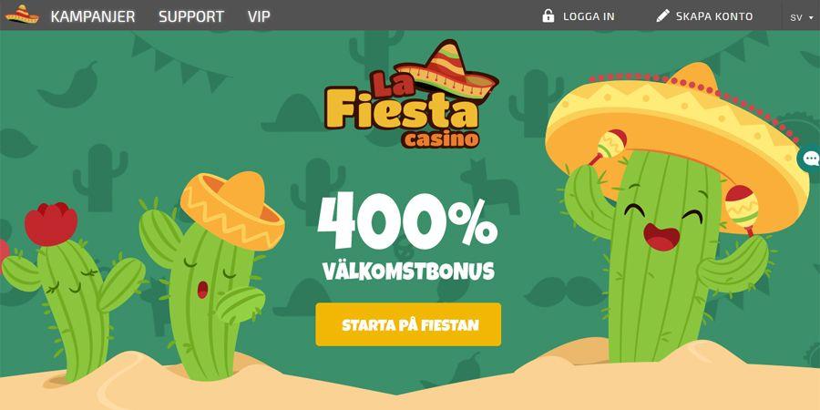 la fiesta casino 100 kr