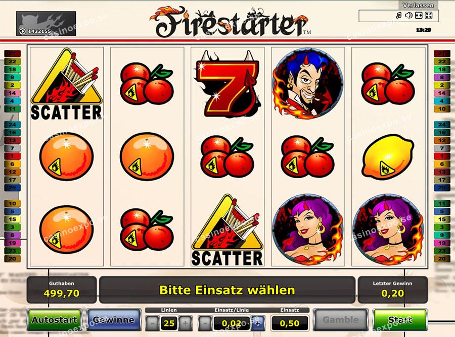 Firestarter Slot