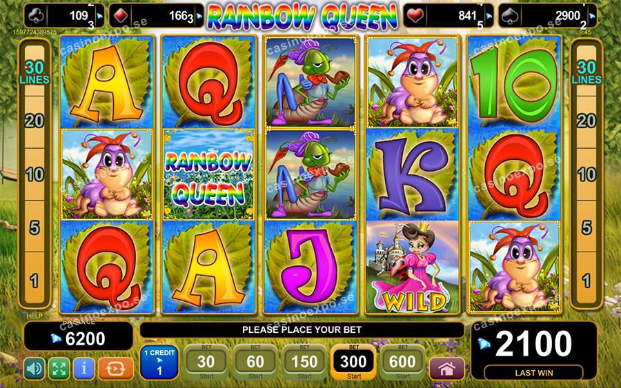 Firefox Rainbow Queen Slot